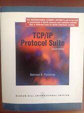 TCP/IP Protocol Suite - Bherouz A. Forouzan Paperback - Very Good