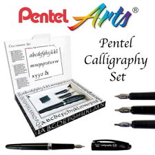 Pentel  Tradio Calligraphy Fountain Pen Gift box set (1.4/1.8/2.1mm) 3 Nibs