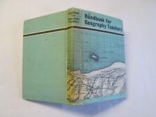 Good - handbook for geography teachers - m. long 1964-01-01   methuen