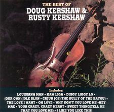 The Best of Doug & Rusty Kershaw CD