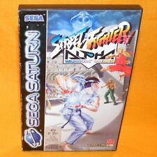 VINTAGE 1996 SEGA SATURN STREET FIGHTER ALPHA WARRIORS DREAMS GAME PAL & SECAM