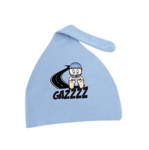 Mütze Motorrad Spezial Bébé Biker Boy Farbe Blau Markierungsspray Gazzz