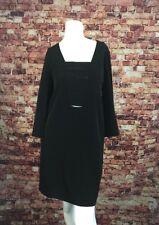Azalea Black Modern Vintage Cut Out Shift Dress Size M
