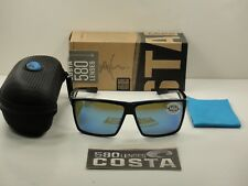 073ee62960 Costa Del Mar Rincon Polarized Rin 11 Sunglasses Black blue Glass 580g