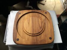 Wood Serving Plate/Cheese & Biscuits/Fruit Suitable Variable Functions Retro