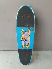 Vintage Variflex Of California Sasquatch Wood Blue Skateboard