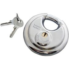 Am-tech W4150 70 mm Disc Padlock - Stainless Steel