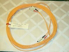 25 Ft SC-SC Fiber Optic Cable Duplex M/M SC to SC  NEW!