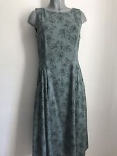 BNWT Laura Ashley Summer Dress With Linen Size 12