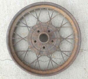 """1928 1929 Model A Ford 21"""" inch WIRE SPOKE WHEEL Original 5 lug --"""