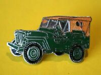Pin's pins Lapel pin Enamel Véhicule 4X4 JEEP MILITAIRE WILLYS HOTCHKISS  EGF