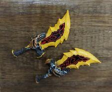 NECA God Of War Kratos Swords Weapons Accessories Parts Lot