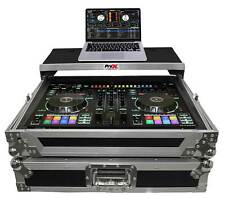 ProX XS-DJ505LT Flight Case For Roland DJ505 Controller w/ Sliding Laptop Shelf