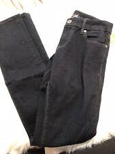!IT Jeans Women's Dark Wash Rising Starlet Stretch Skinny Jeans Sz 27 B122/3