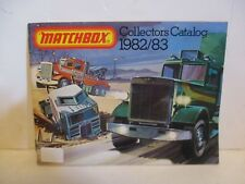 MATCHBOX DIE CAST VEHICLES OFFICIAL COLLECTOR'S CATALOG BOOKLET 1982 1983 DISNEY