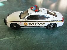 1/18 US Secret Service Police Custom Dodge Charger w/ Flashing Lightbar & Siren