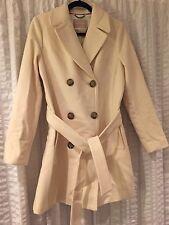 NWT Banana Republic Ivory/Cream Belted Winter Coat   M