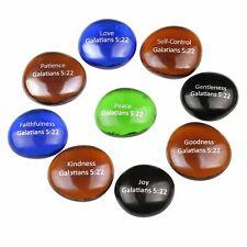 Biblical scripture glass stones set - Model IV - Fruits of the Holy Spirit -