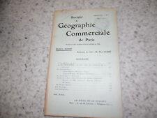 1911.Société géographie commerciale.lutte contre inondation par reboisement..
