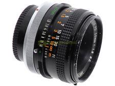 Canon FD 50mm. f1,8 S.C. Utilizzabile su digitali, tramite adattatore.
