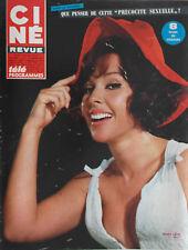 Ciné Revue n°3- 1967 : Ann Margret Kim Novak Cornel Wilde Brigitte Bardot