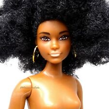 Barbie Fashionistas Number 105  African American Curvy Nude Doll