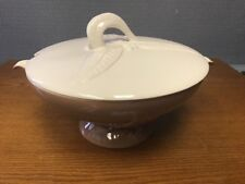 Vintage Garden Leaf Harvest Soup Tureen With Lid MCM