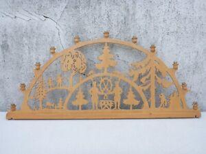 alter Schwibbogen Lichterbogen Holz Weihnachten 78,8 cm breit als defekt