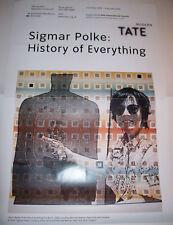 Sigmar Polke History of Everything Tate 2003 Original Exhibition Poster Print