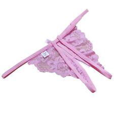 Women's Lace Lingerie G-string Briefs Underwear Panties T-string Thongs Knickers