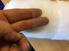 54M White Soft Bridal Veil Wedding Tulle Net Mesh Material Seconds 300cm Wide