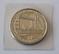 GOLDEN JUBILEE OF QUEEN ELIZABETH II 2002 GIBRALTAR 1 CROWN COIN UNC