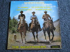 The Nightriders-Western 7 PS-4 Track EP-France-Soundtrack-Visadisc-VI 299