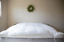 Pillowtex® White Duck Feather and Down Feather Bed with Zippered Cover