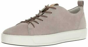 NIB ECCO $170 Soft 8 Mens Leather Sneaker,Moon Rock, Size Multiple Variations