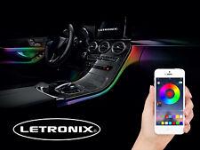 RGB LED Ambientebeleuchtung 6er Set passend für BMW F10 F07 E61 F11 E63 E64 E32