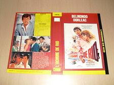 JAQUETTE VHS L'Homme de Rio Jean-Paul Belmondo Philippe de Broca