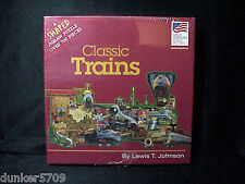 700+ PIECE JIGSAW PUZZLE CLASSIC TRAINS GREAT AMERICAN CO NEW FACTORY SHRINKWRAP