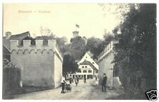 AK, Breisach, Partie am Kupfertor, belebt, 1917