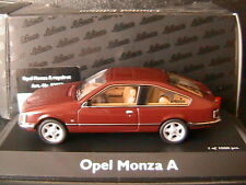 OPEL MONZA A ROYAL ROT 1978 SCHUCO 02952 1/43 COUPE ROUGE ROSSO DREI TURER