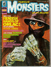 Famous Monsters #63 The Hands Of Orlac! Frankenstein! Mad Love! Future Films!