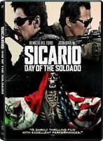 Sicario: Day of the Soldado (DVD,2018) NEW* Action * PRE-ORDER SHIPS ON 10/02/18
