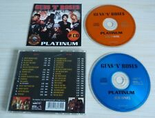 RARE 2 CD ALBUM PLATINUM GUNS 'N' ROSES 31 TITRES 1998
