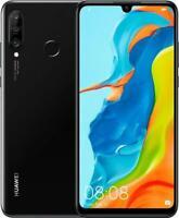 HUAWEI P30 LITE 128GB MIDNIGHT BLACK Smart Phone Dual SIM