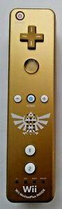 Legend of Zelda Skyward Sword Gold Remote! Nintendo Wii! Tested and Working