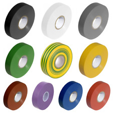 Olympic Fixings PVC Electrical Insulation Tape Roll - 33m x 19mm – High Quality