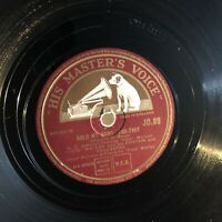 FATS WALLER—HOLD MY HAND/ITS THE TUNE THAT COUNTS [78RPM] HMV JO89 (VG)