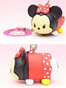 Disney Tsum Tsum Swing Mascot Vol.1 PVC Keychain SD Figure ~ Minnie Mouse @83967