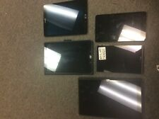 LOT of 5 Tablets  (sold AS-IS) samsung, surface, ellipsis, and zte