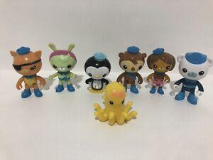 Octonauts Mattel Figures X 7